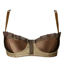 Made by Niki Groomed Bra Brown - Numbered Limited Edition - size 32D