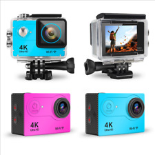 Waterproof 4K HD 1080P Sports Camera WIFI DV Carry Case Bundle Action Camcorder