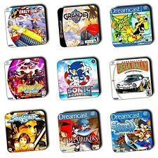 Sega Dreamcast Games Box Art themed - Wooden Coasters - Gaming - Multi-Buy Offer