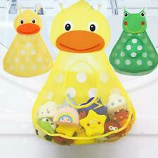 Baby Shower Duck Toy Storage Mesh with Strong Suction Cups For Kids Bath NEW