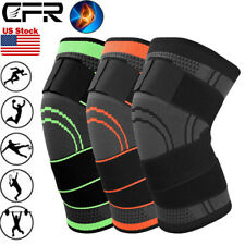 Knee Sleeve Compression Brace Patella Support Stabilizer Sports Gym - Joint Pain