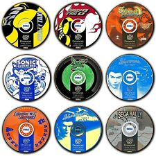 Sega Dreamcast Games Disc Art - PAL - Coasters - Wooden - Round - 4 For 3