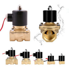 Brass Electric Solenoid Valve Air Water Gas Brass Normally Closed 12/24V 240V CA