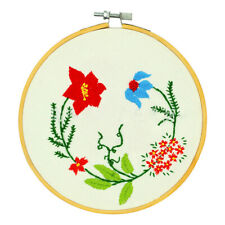 36/40cm Bamboo Frame Embroidery Hoop Ring DIY Cross Stitch Machine Loop SewiODFS