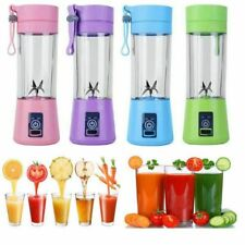 400ML USB Portable Personal Blender Juicer Mix Blend Rechargeable Jet Cordless