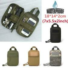 Outdoor Waterproof Tactical Waist Belt Pack Phone Pouch Bag Camping Hiking SALE