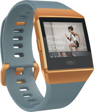 Artikelbild Fitbit Ionic Slate Blue- Burnt Orange Smartwatch Wlan NFC GPS