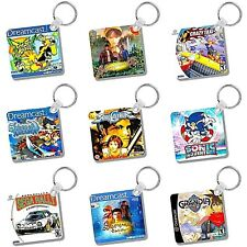 Dreamcast Games Box Art Keyrings - Box Art - Image Both Sides - Gifts - Gaming