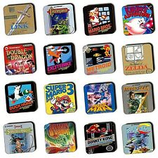 NES Games Nintendo Entertainment System Games Box Art - Wood Coasters - 4 For 3