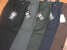 "WIDER FITTING SCHOOL TROUSERS - ALL AGES UPTO 44"" WAIST"