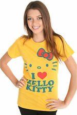 Hello Kitty Yellow Face Tee