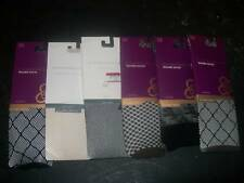 Charter Club Trouser socks Textured one size Knee-hi nylon pantyhose