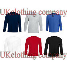 Fruit of the Loom Long Sleeve Cotton t-shirt