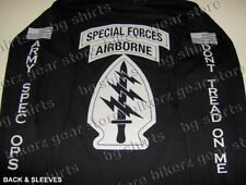 Army Special Forces SOCOM Long Sleeve T shirt BLK S-XL SPEC OPS JSOC