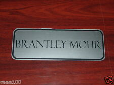 "Custom Engraved Horse Stall Name Plate 3"" x 8"""