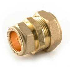 NEW BRASS plumbing pipe compression reducing coupler