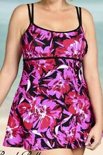 women's swimwear swimdress,bathing suit plus 18W 1X  2X