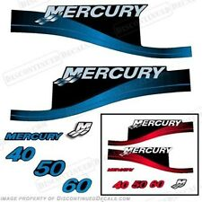 Mercury 40/50/60 hp ELPTO Outboard Decal Kit