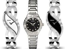 Sekonda Seksy Sparkle Stainless Steel Ladies Watch Range + Free Pendant