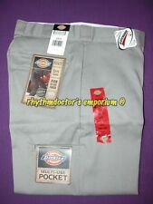 Dickies Mens 85283 SV Loose Fit Double Knee Multi Use Pkt Work Pant Silver Grey