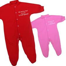 Me + Dad Love LIVERPOOL Baby Clothes Sleepsuit NB-12 m
