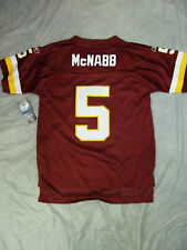 DONOVAN MCNABB #5 WASHINGTON REDSKINS YOUTH REPLICA NFL JERSEY FREE SHIPPING
