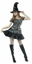 ADULT LADIES SPIDER WITCH HALLOWEEN FANCY DRESS COSTUME