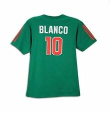 adidas MEXICO WC 2010 PLAYER Shirt SOCCER GREEN BLANCO # 10 BRAND NEW