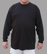T-Shirt  L/S Crew Neck -  Big Tall  Sizes 3x - 10x