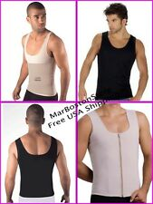 Men's Undershirt Magic Body Shaper, Instant Size Reducer, Vest, Waist Trimmer
