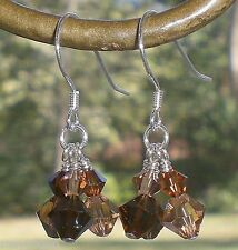 Crystal Drop Petite Dangle Earrings Made with Swarovski Elements 77 Color Picks