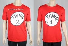DR SEUSS CAT IN THE HAT THING 1 2 Red t-shirt Shirt Costume Cotton Men Women NEW