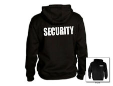 Security Hooded Sweatshirt All Sizes And Colors New
