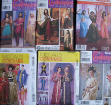 Costumes  Patterns Geisha Kimonos/Belly Dance/Hindu Sari /Misses' Girl  Men Boys