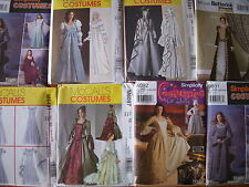 Queen Princess Victorian Renaissance  Medieval  Costumes Dress Bridal Gowns