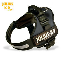 NEW JULIUS-K9 ORIGINAL HARNESS BLACK SAFETY ALL SIZES AVAILABLE $25.95 AND UP