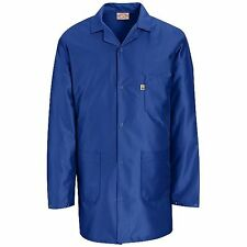 ESD Anti-Static Premium Lab Jacket Coat Unisex KK26 Red Kap Blue or White