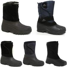 MENS SNOW BOOTS WINTER WATERPROOF MUCKER THERMAL WELLINGTONS FUR SKI BOOTS 7 -12