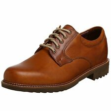 Neil M Wynne Men's Genuine Leather Dress Shoes Cognac Bison NM402027 All Sizes