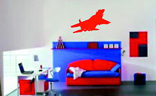 Fighter Plane Wall Sticker Vinyl Wall Art Giant transfer picture decals graphics