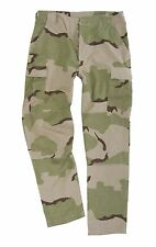Desert Camo BDU RIP STOP TROUSERS - All Sizes Cotton Combat Military Army Pants
