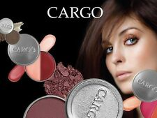 CARGO COSMETICS CHOOSE VARIOUS ITEMS~EYES~LIPS~FACE~CHEEK~MAKE UP CASE