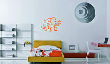 Triceratops Dinosaur Vinyl Wall Sticker wall art decal large picture graphic