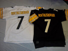 BEN ROETHLISBERGER #7 PITTSBURGH STEELERS ADULT REEBOK NFL REPLICA JERSEY