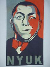 "The Three Stooges - Curly Howard - Revolutionary ""Nyuk"" Men's T-Shirt"