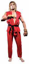 STREET FIGHTER KEN ADULT MENS COSTUME Game Character Party Karate Martial Arts