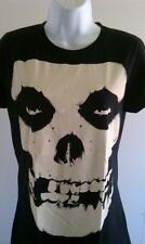 MISFITS WOMENS T-SHIRT PUNK ROCK BAND SKULL SHIRT SM MED LG XL