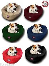 Sm- XL Majestic Pet Dog Bagel Style Bed 6 Colors SMALL MEDIUM LARGE and XL NEW