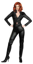 THE AVENGERS MOVIE BLACK WIDOW DELUXE ADULT WOMEN COSTUME TV Movie Theme Party