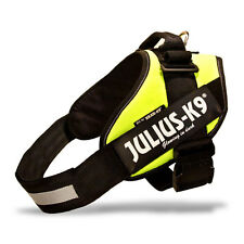 JULIUS-K9 IDC HARNESS NEON-GREEN PICK SIZE/COLOR EASY ON/OFF STARTING @ $28.99